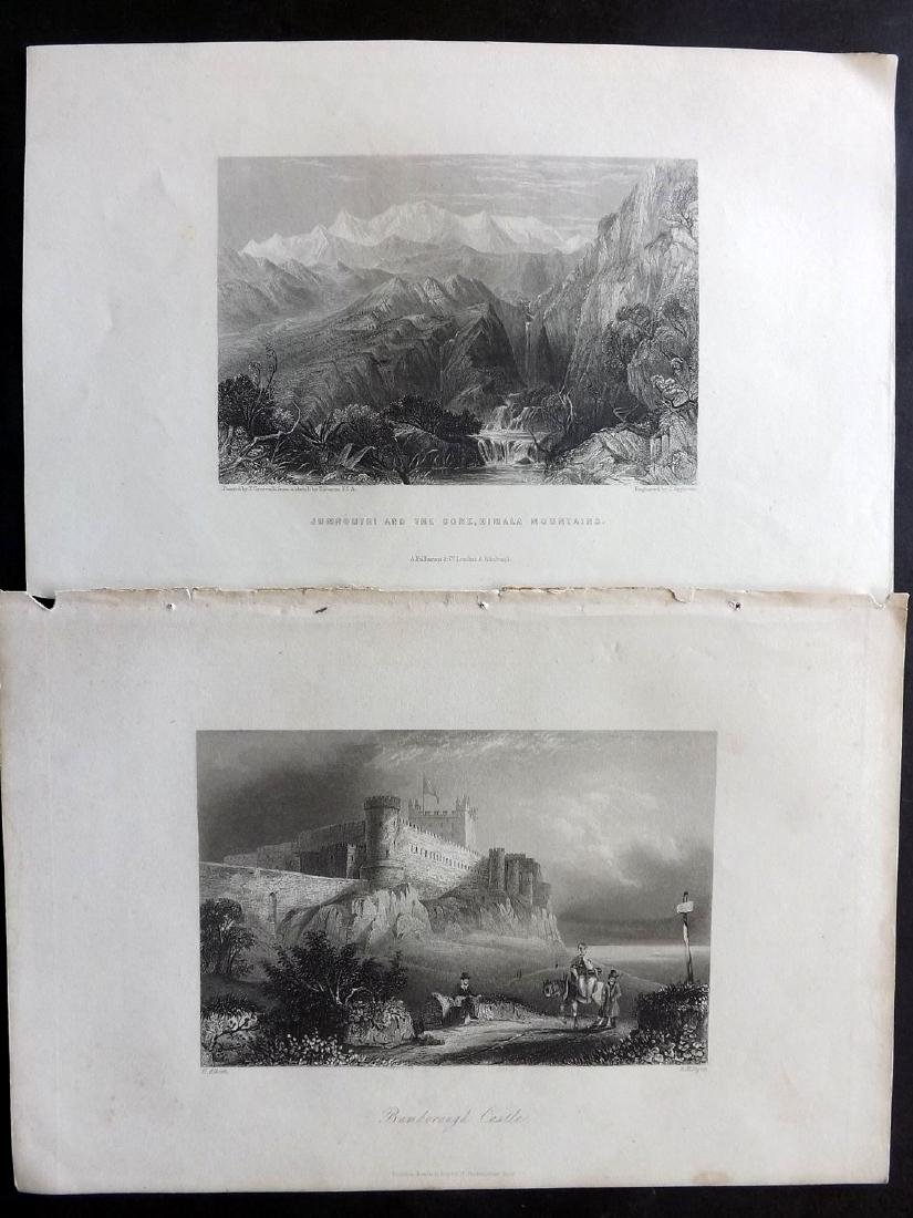 World Views 19th Century Lot of 14 Steel Engravings - 3
