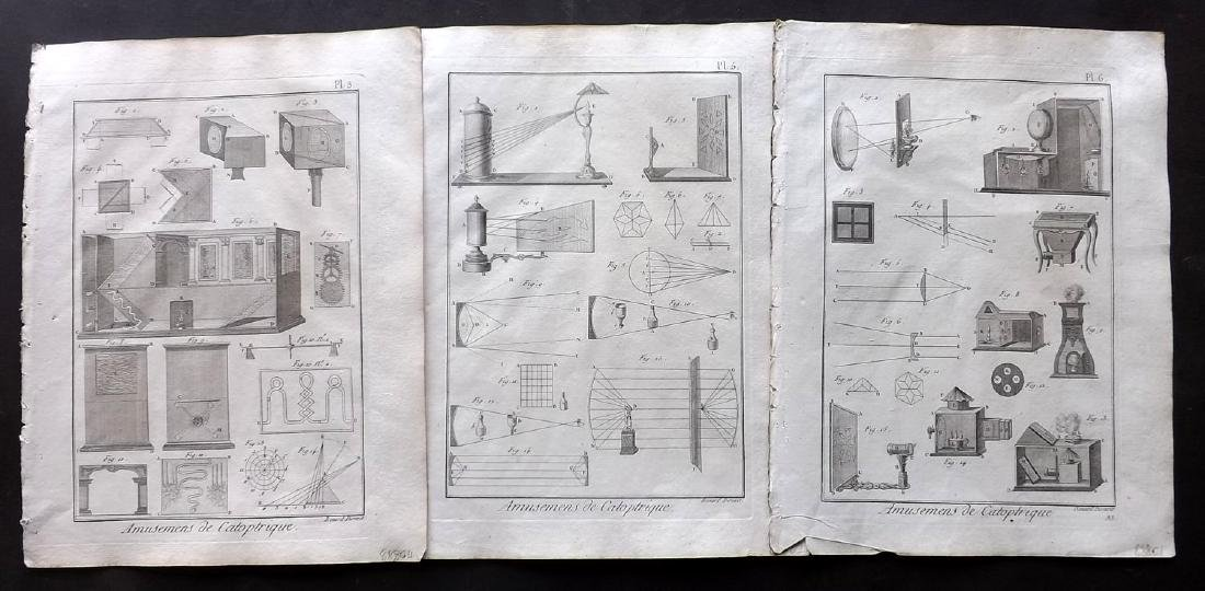 Diderot, Denis C1790 Lot of 11 Science & Tech Prints - 2