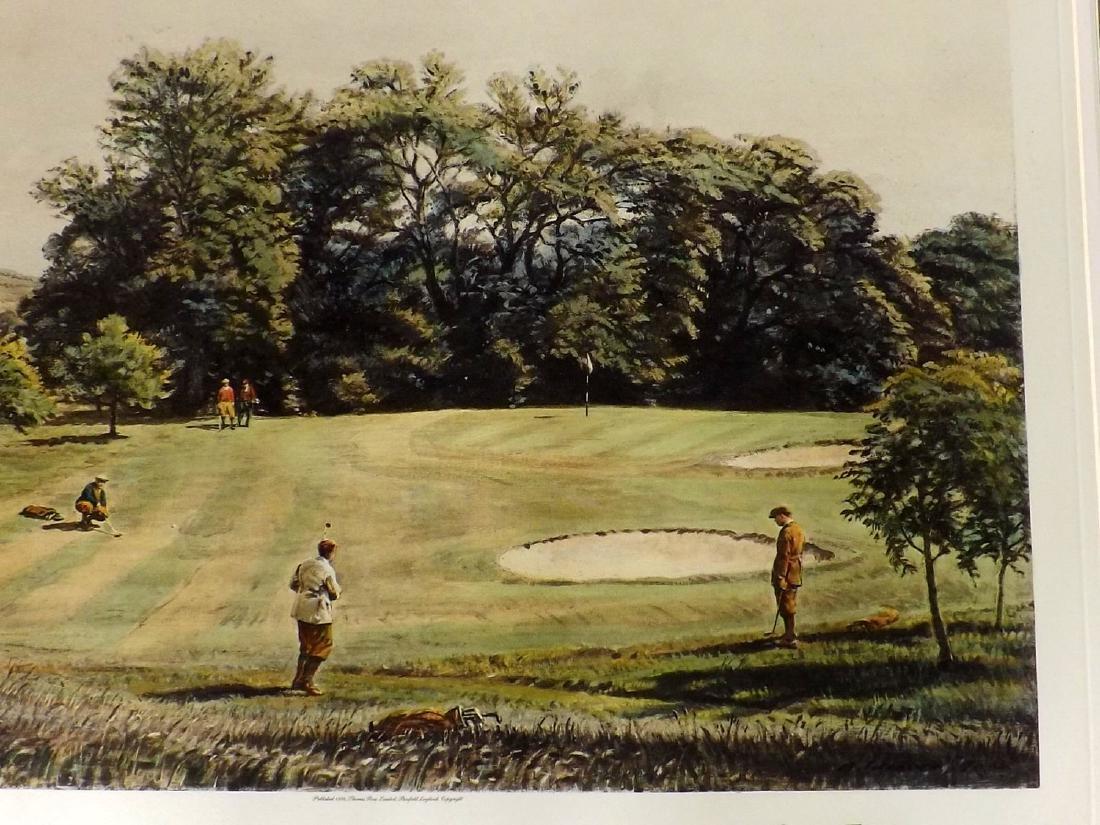 Golf 1993-4 Pair of Large Prints. Gilbert etc - 2
