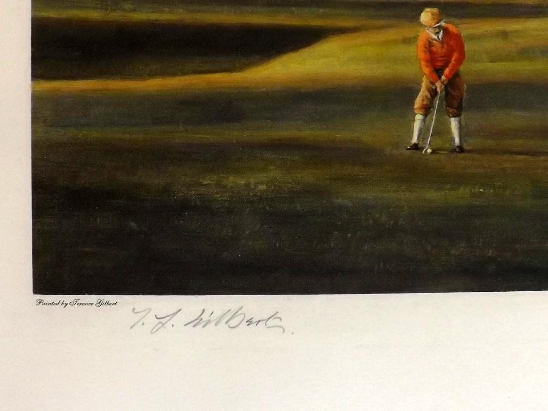 Golf 1993-4 Pair of Large Prints. Gilbert etc - 3