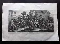 Hogarth William 1835 Large Print Hudibras