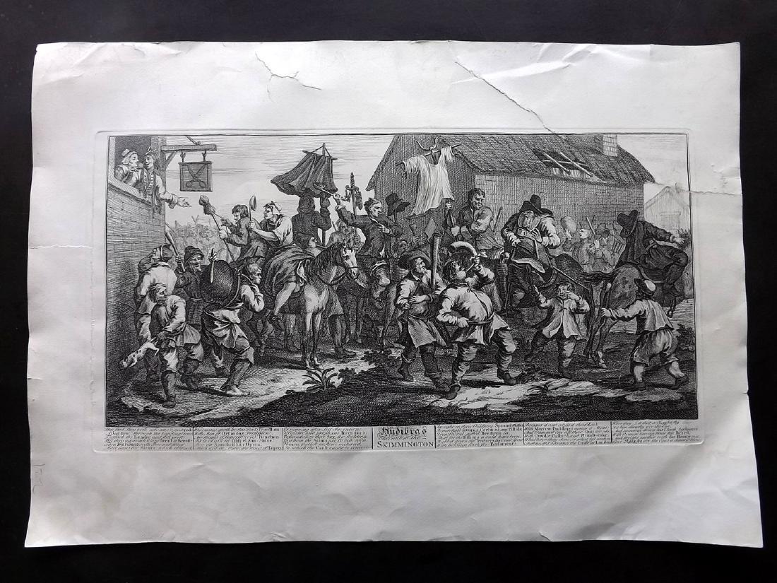 Hogarth, William 1835 Large Print. Hudibras