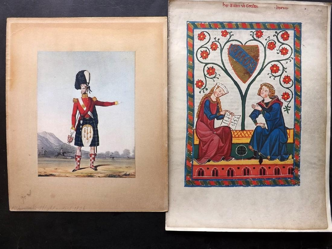 Mixed Prints 17th-19th Century. Lot of 65 Engravings - 2