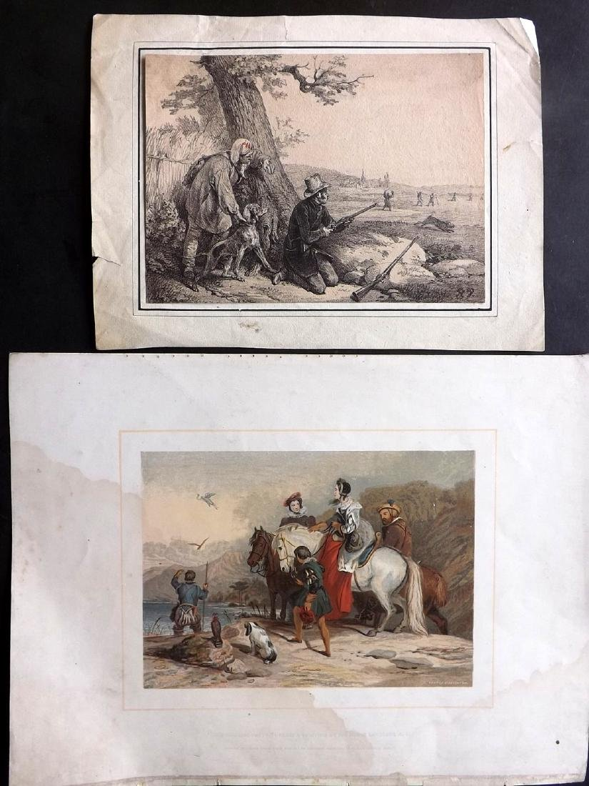 Mixed Prints 17th-19th Century. Lot of 65 Engravings - 3