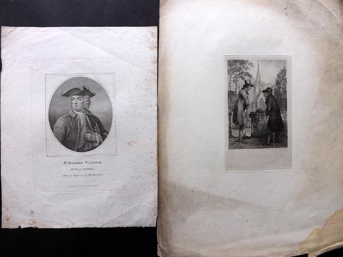 Mixed Prints 17th-19th Century. Lot of 65 Engravings - 4
