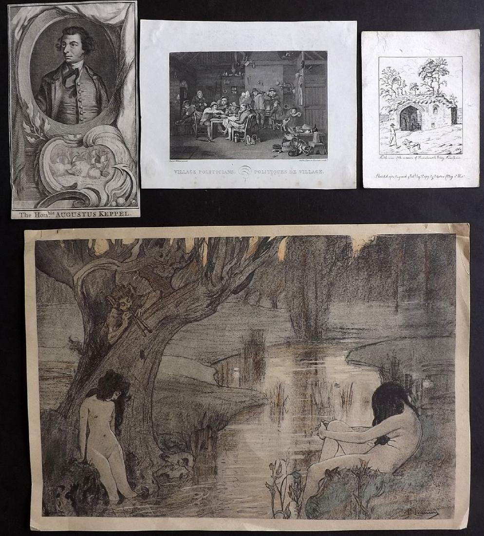 Mixed Prints 17th-19th Century. Lot of 65 Engravings - 6