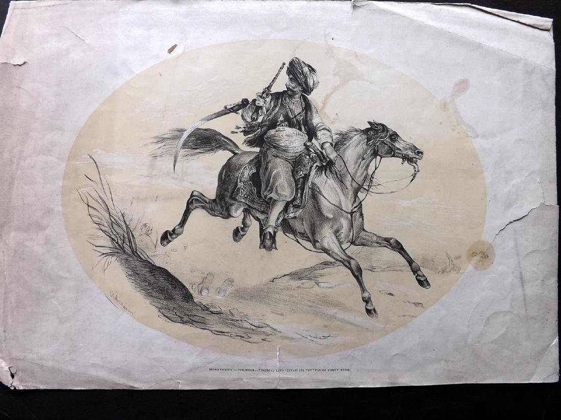 Mixed Prints 18th-19th Century. Lot of 30. Large Format - 4
