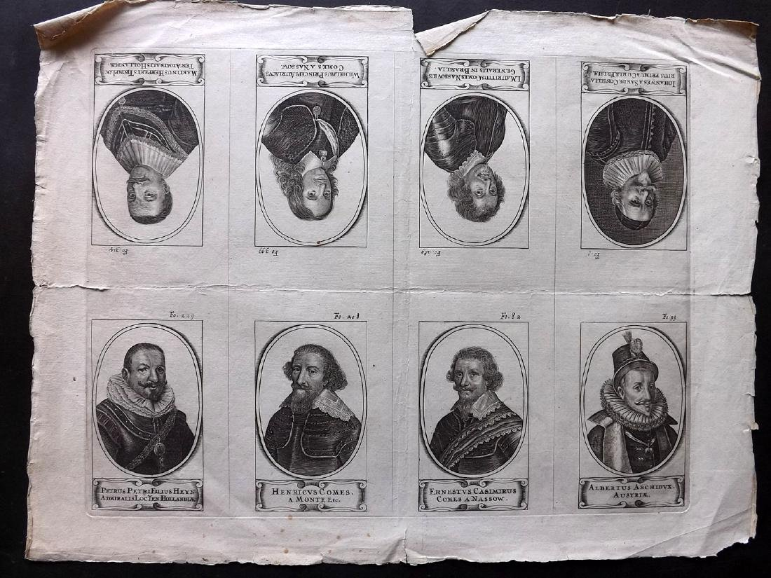 Mixed Prints 18th-19th Century. Lot of 30. Large Format - 8