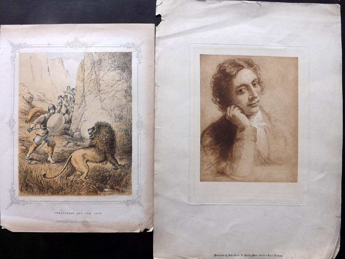 Mixed Prints 18th-19th Century. Lot of 37 - 4