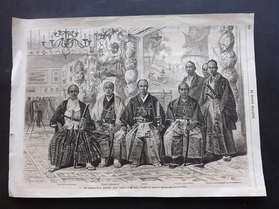 Mixed Wood Engravings 19th Century Lot of 175 Sheets - 2