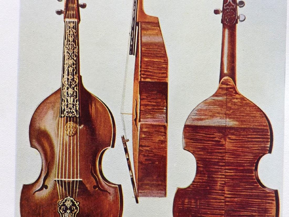 Music 1921 - 8 Prints from Hipkins's Musical Insruments - 2