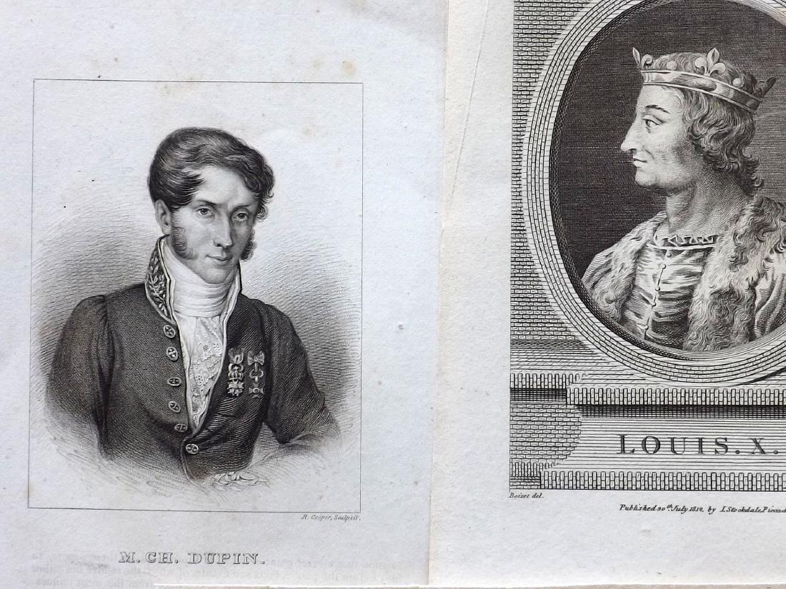Portraits (European) 18th-19th Century Lot of 32 - 2