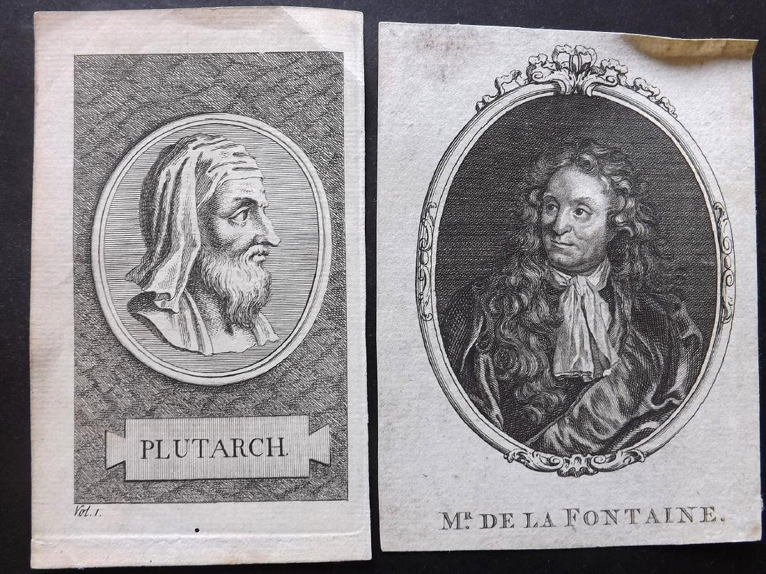 Portraits (French) 19th Century Lot of 28 - 2