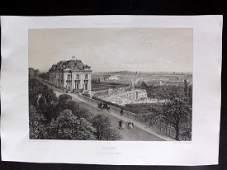 Paris dans sa Splendeur 1863 Large Print. Meudon