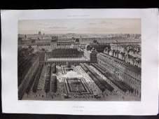 Paris dans sa Splendeur 1863 Large Print. Palais-Royal