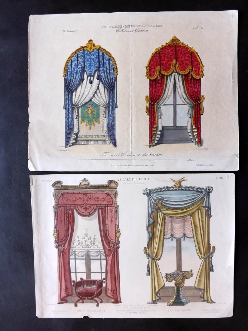 Le Magasin de Meubles C1870 Furniture Prints (4) - 2