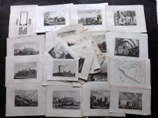 British Views - Sussex C1780-1880 Century Lot of 60