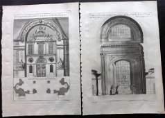 Granet, Jean Joseph 1736 Antique Architectural Prints