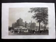 Paris dans sa Splendeur 1863 Chateau de St.