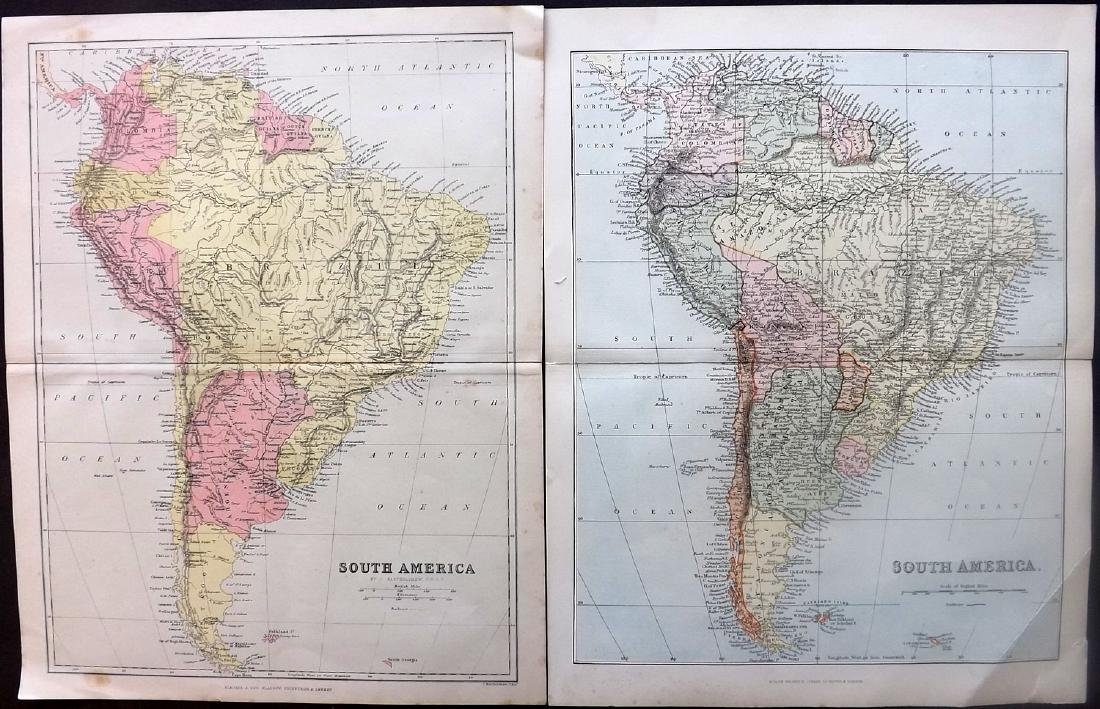 Maps 18th-19th Century. Mixed Lot of 23 - 2