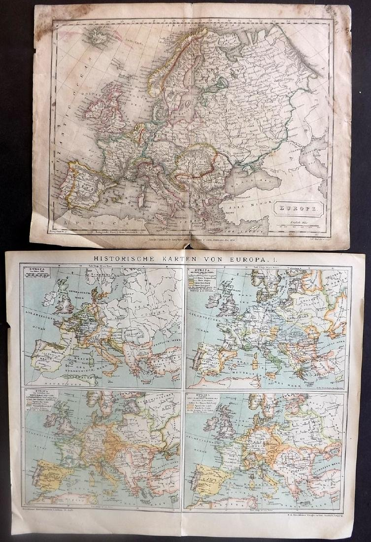 Maps 18th-19th Century. Mixed Lot of 23 - 3