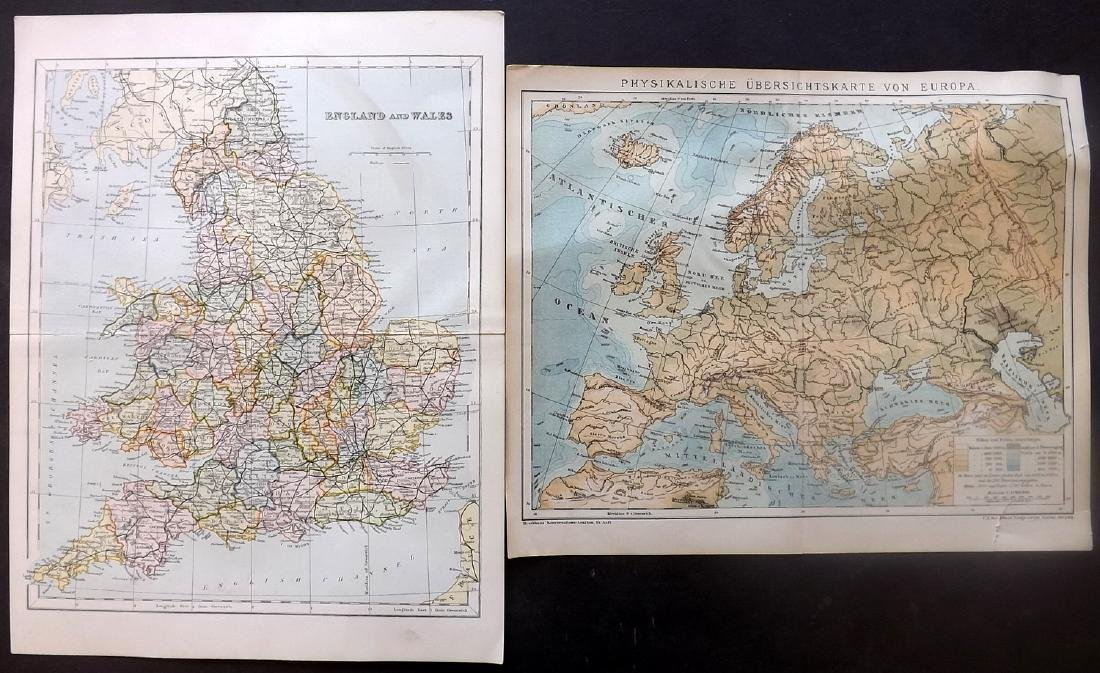 Maps 18th-19th Century. Mixed Lot of 23 - 4