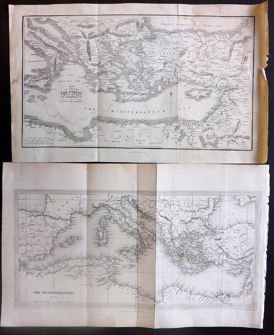 Maps 18th-19th Century. Mixed Lot of 23 - 5