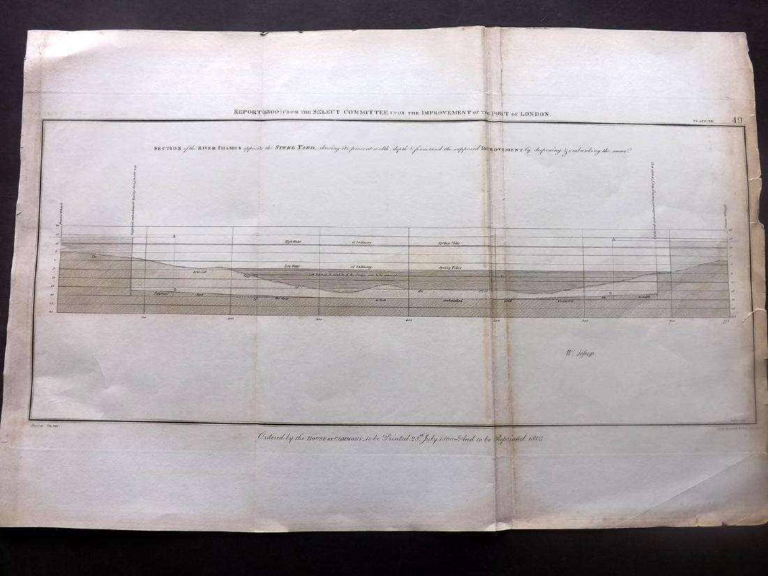 London 1803 LG Architecture Designs. Lot of 7 - 4