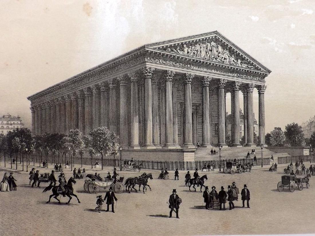 Paris dans sa Splendeur 1863 Eglise de la Madeleine - 2