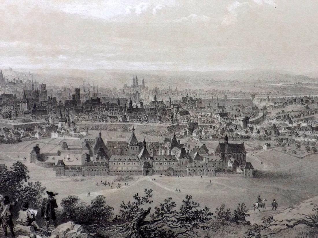 Paris dans sa Splendeur 1863 LG Print. Paris en 1620 - 2