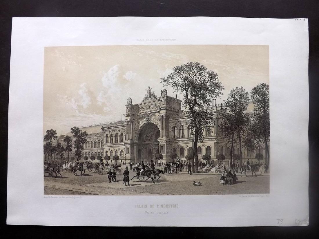 Paris dans sa Splendeur 1863 Palais de L'Industrie