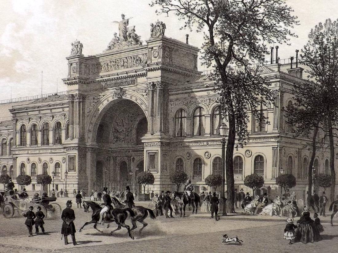 Paris dans sa Splendeur 1863 Palais de L'Industrie - 2
