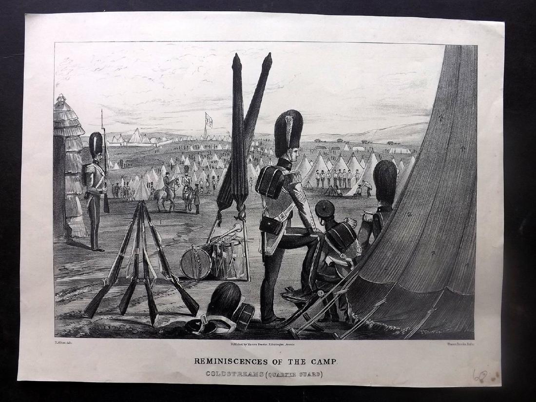 Alken, Henry 1853 Military Print. Coldstreams Guard