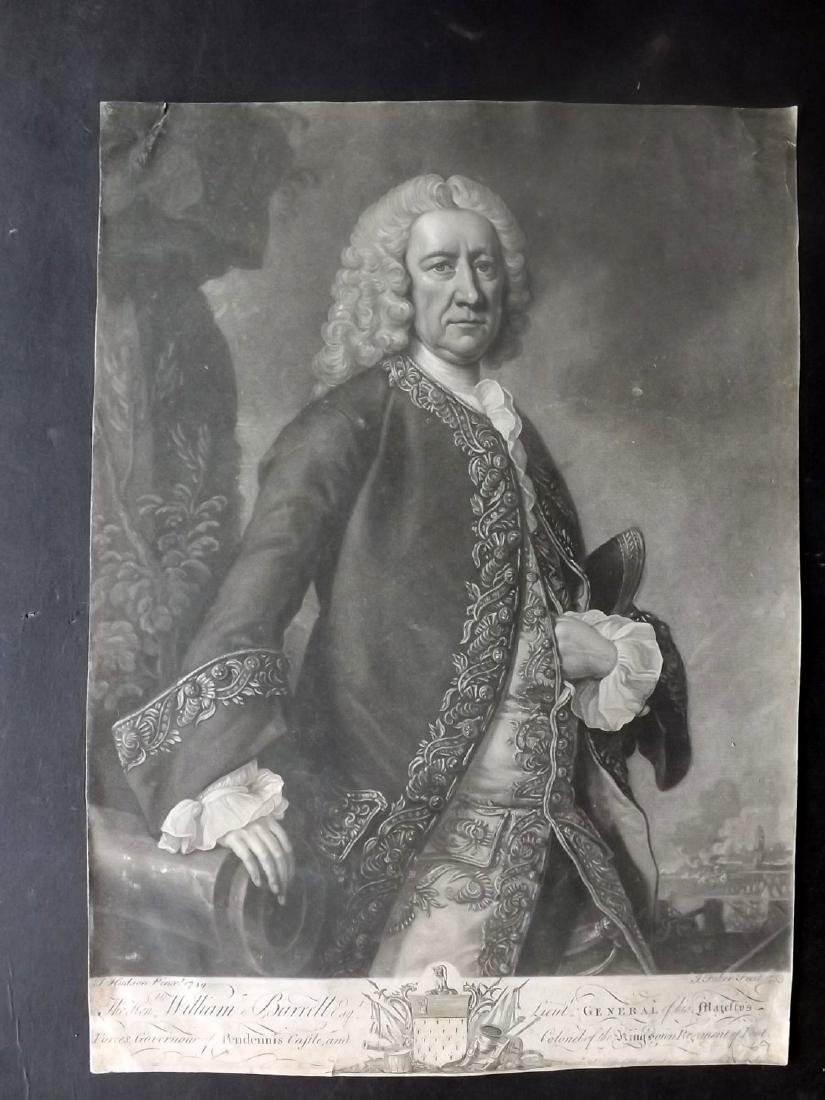 Faber, John aft Hudson 1753 Mezzotint William Barrell