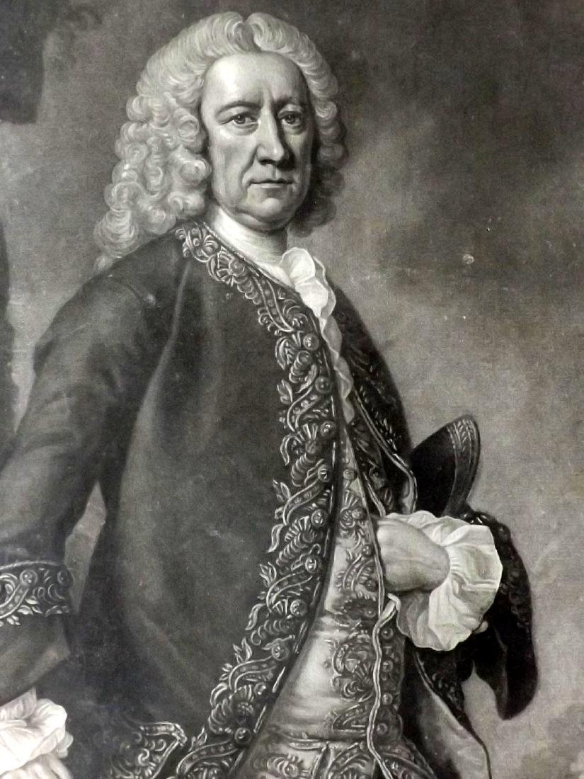 Faber, John aft Hudson 1753 Mezzotint William Barrell - 2