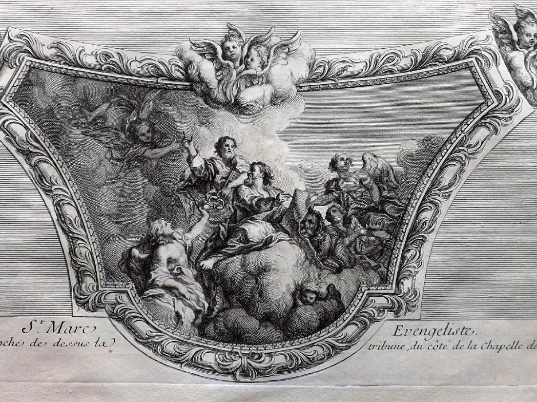 Granet, Jean 1736 Pair of Prints. Artwork Les Invalides - 2