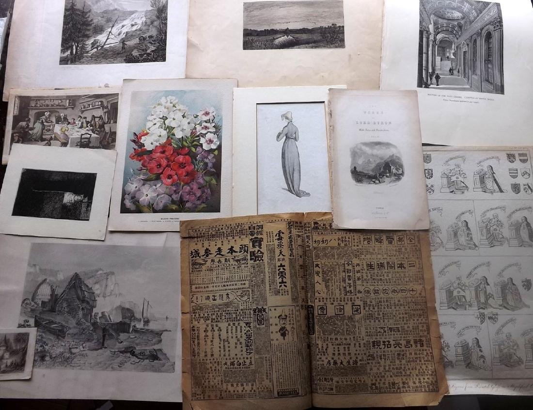 Mixed Prints 18th-19th Century Lot of 75 - 4