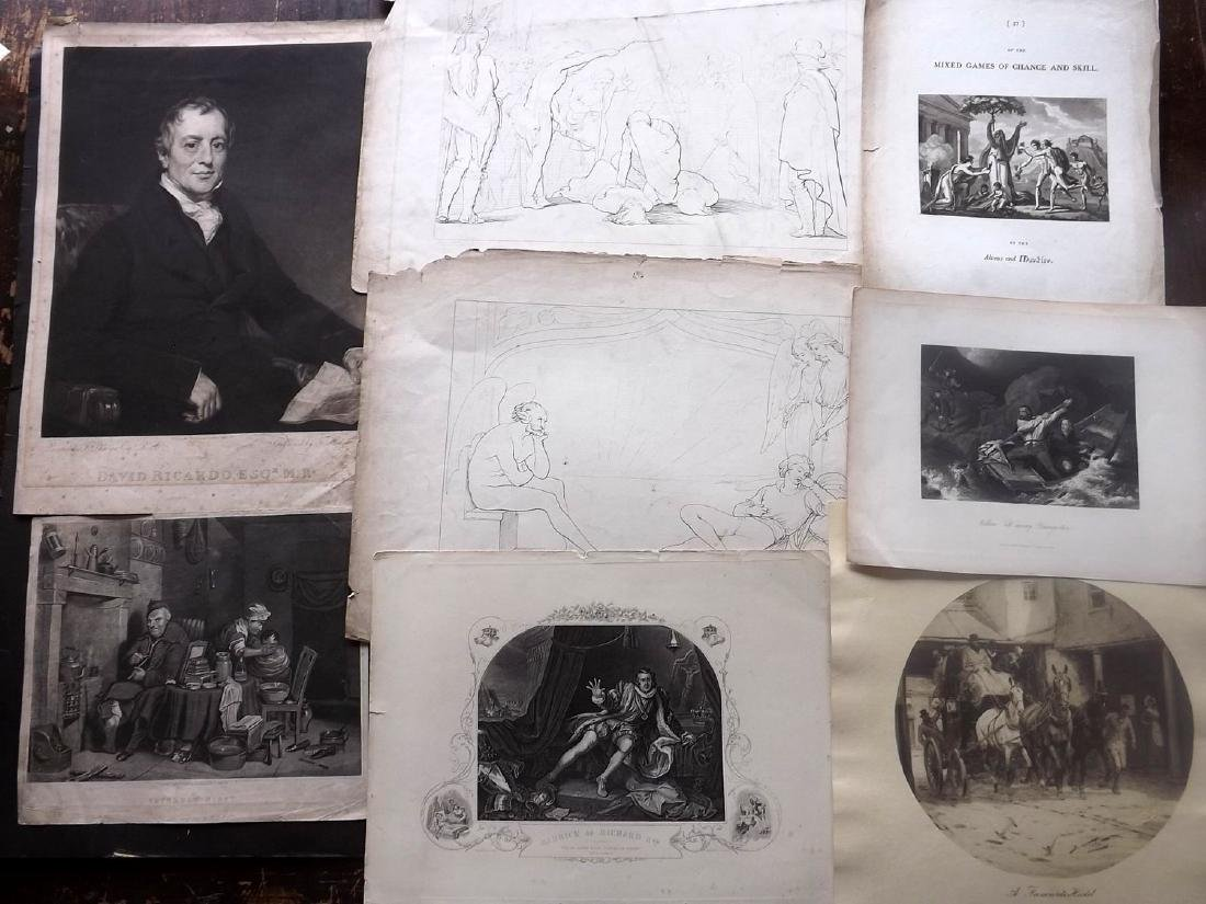 Mixed Prints 18th-19th Century Lot of 75 - 5