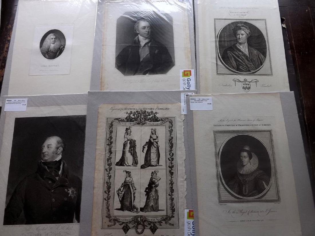 Portraits (Mounted) 16th-19th Century Lot of 38, Folio - 3