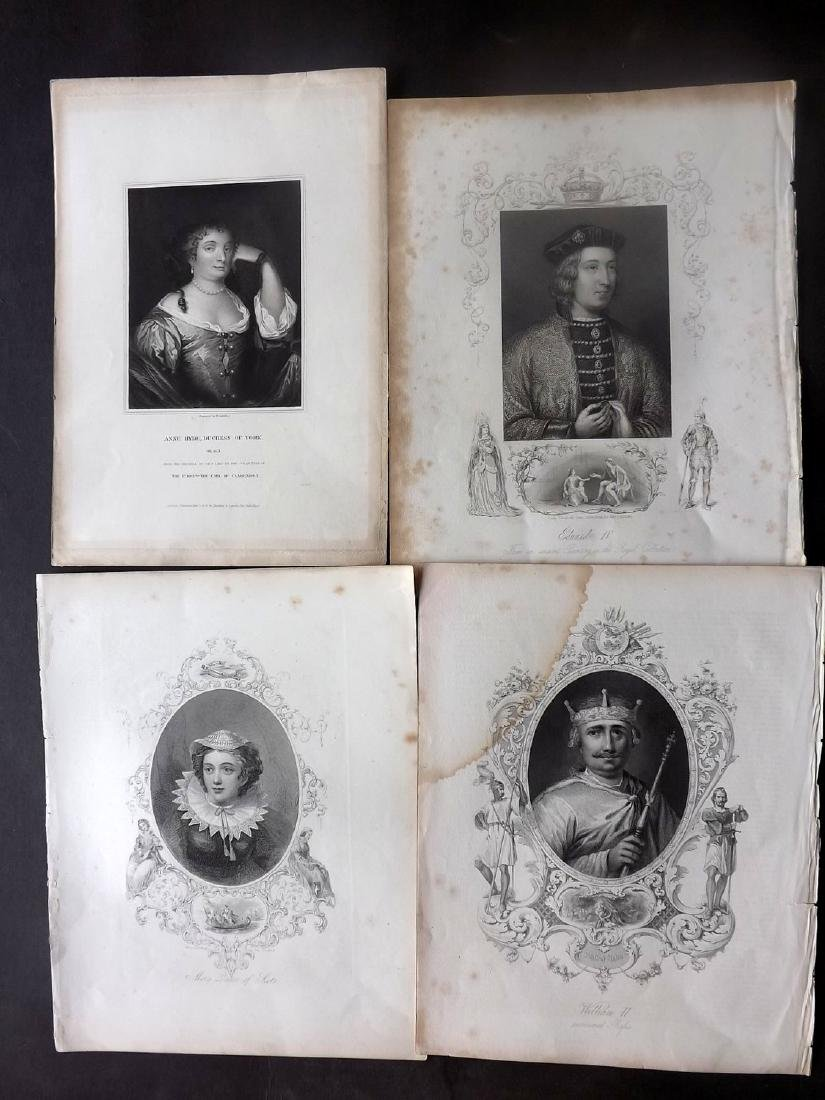 Portraits 18th-19th Century Lot of 18. British - 2