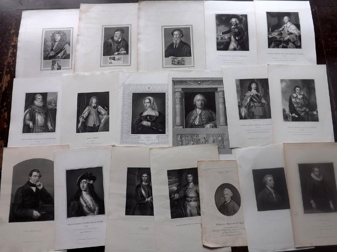 Portraits 19th Century Lot of 45. British. Clean