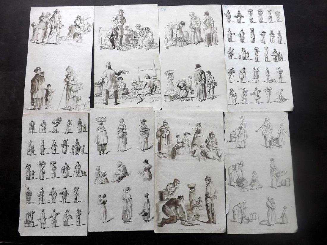 Rustic Figures C1800-20 Lot 18 Prints by Pyne/Ackermann - 2