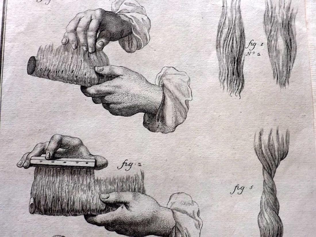 Science & Tech 18th-19th Century Lot of 7. Folio - 2