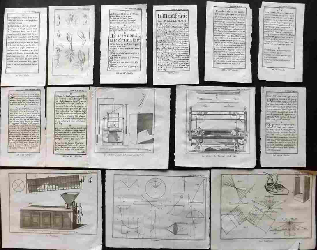 Pluche, Noel Antoine 1756 Lot 14 Science & Calligraphy