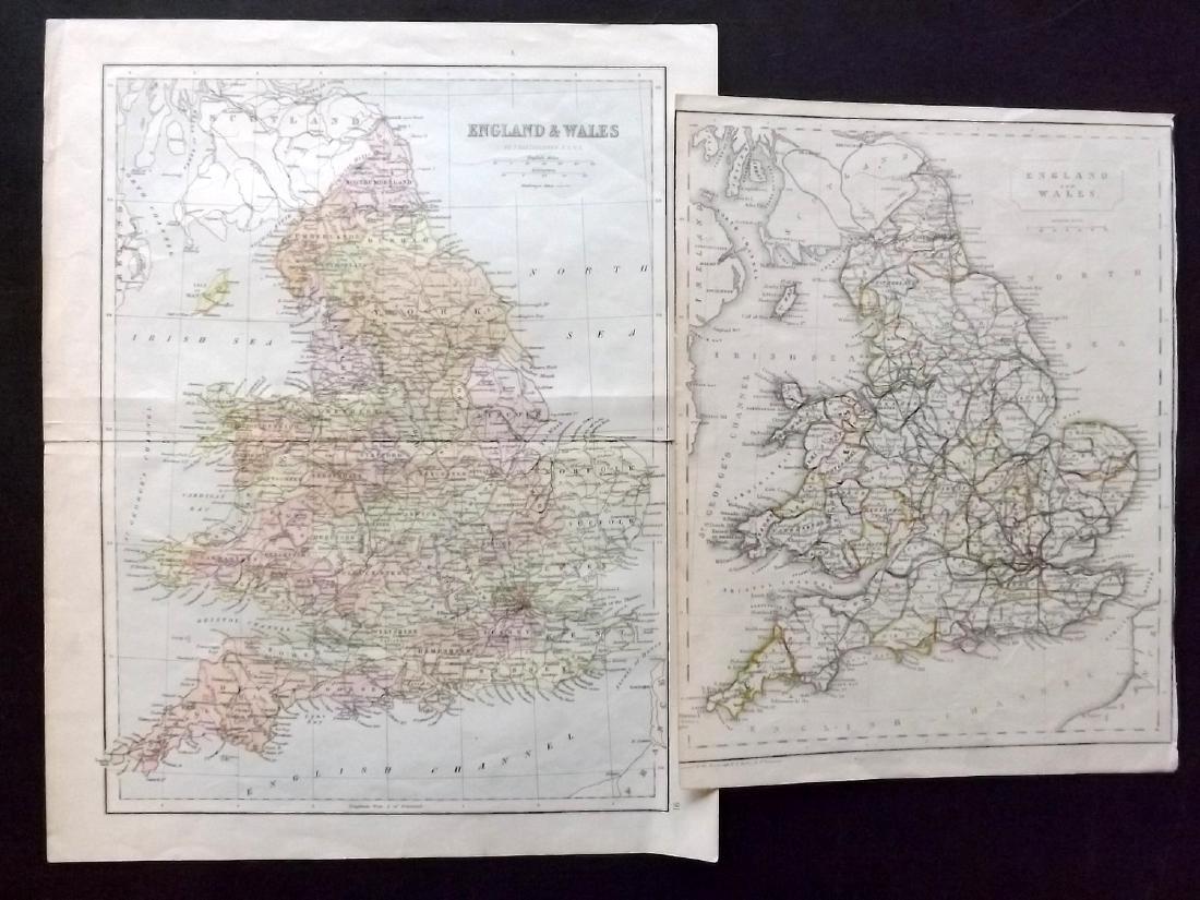 British Views & Maps 19th Century Lot of 11 - 2