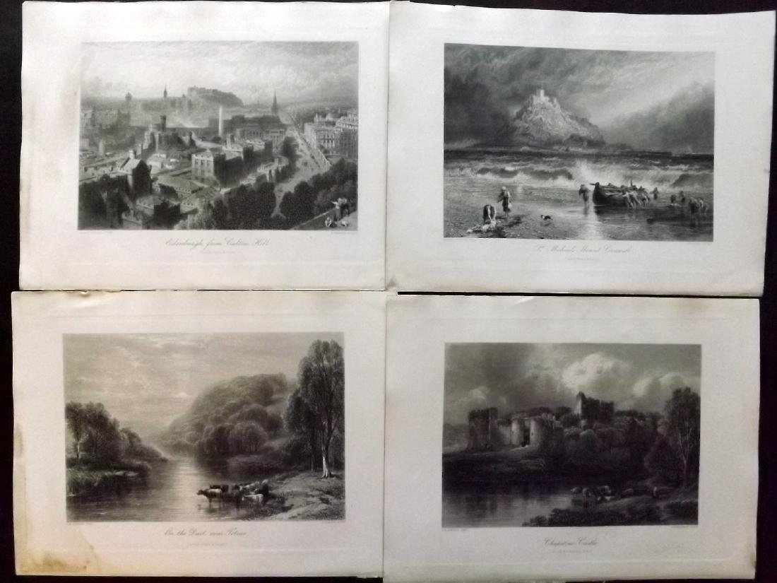 Picturesque Europe C1875 Lot of 26 Engravings. UK - 2