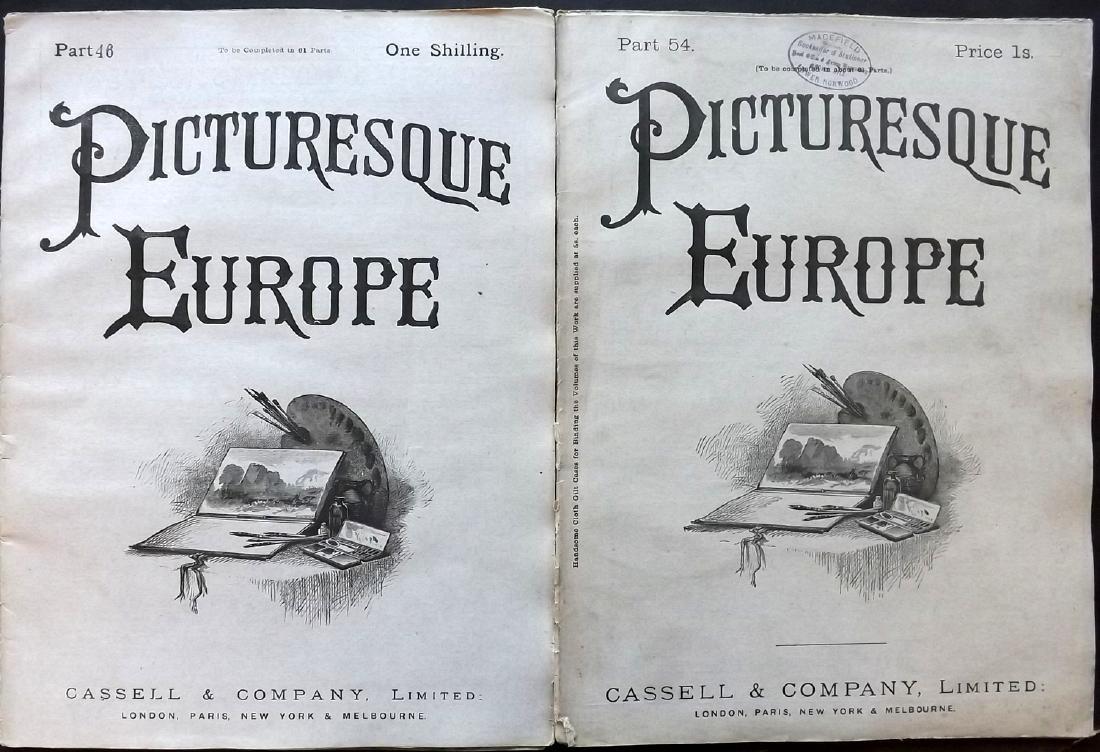 Picturesque Europe C1875 Lot of 550 Illus. Sheets - 2