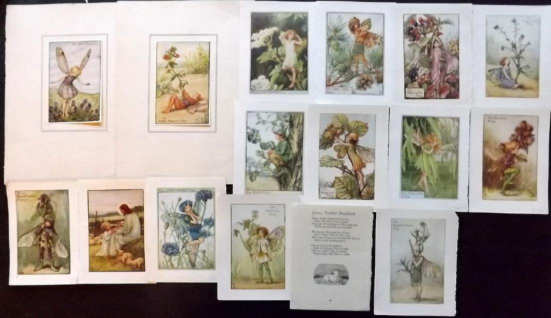 Barker, Cicely Mary C1940 Lot 15 Flower Fairies Prints