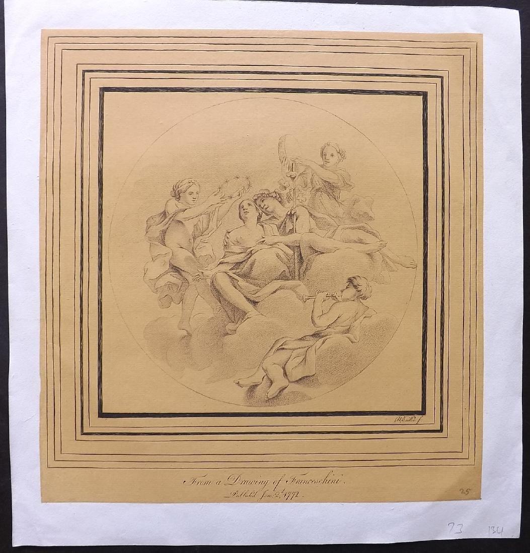 Baillie, William after Franceschini C1800 Classical