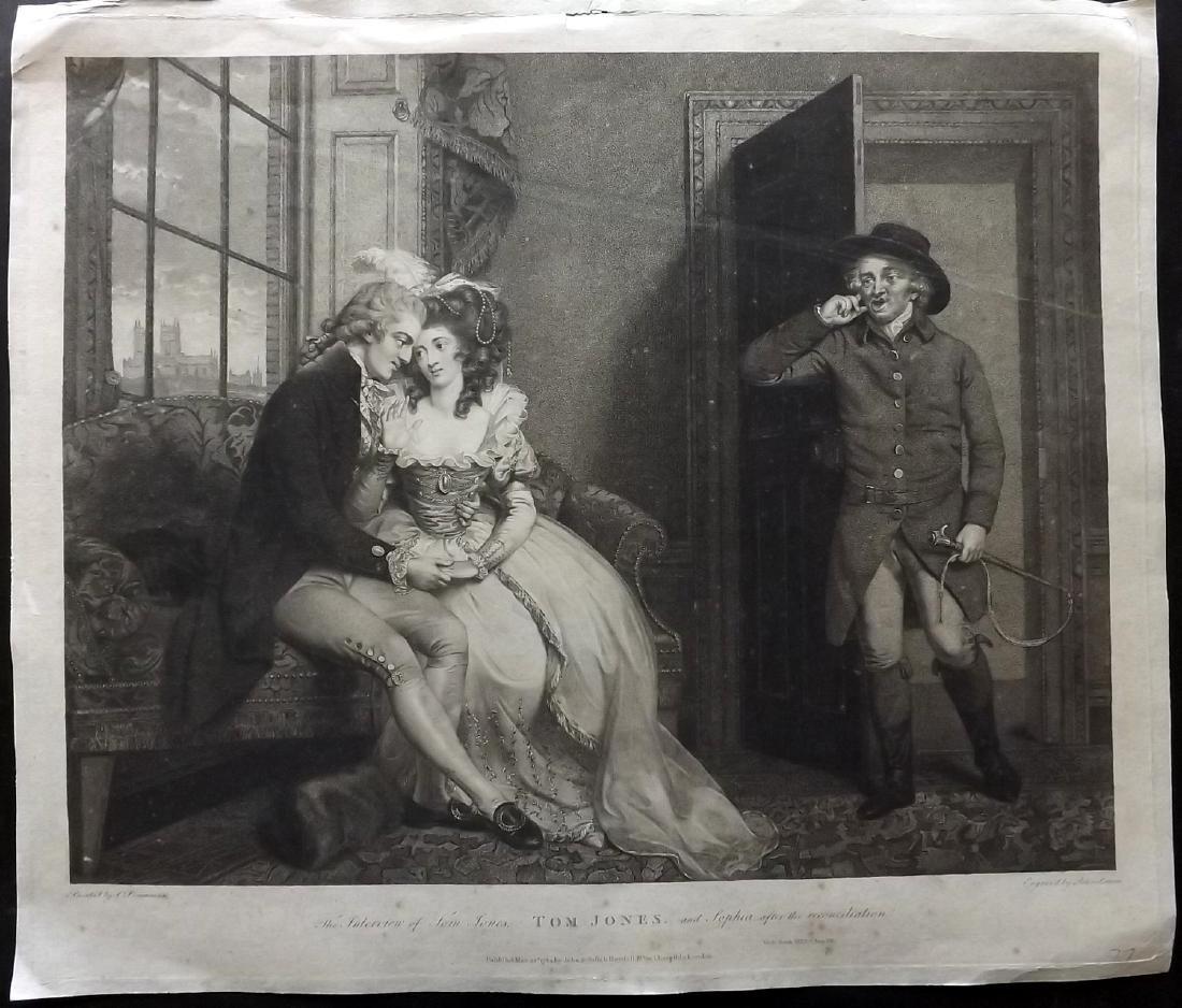 Boydell Shakespeare Gallery 1789 LG Print. Tom Jones